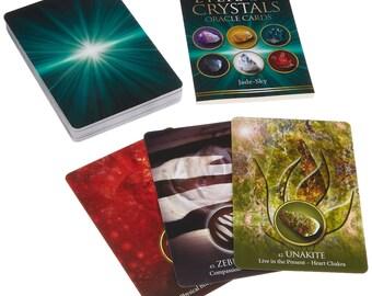 Eternal Crystals Oracle Card Deck By Jade Sky
