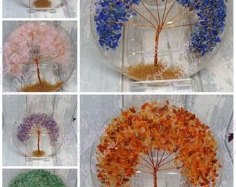 Organite Tree Coaster, Gemstone Coaster