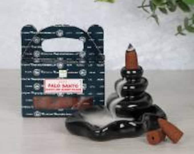 Satya Palo Santo Backflow Incense Cones