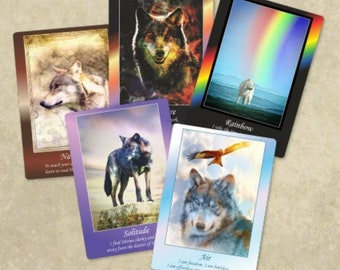 Wolf life cards by Mystic Mouse Publishing