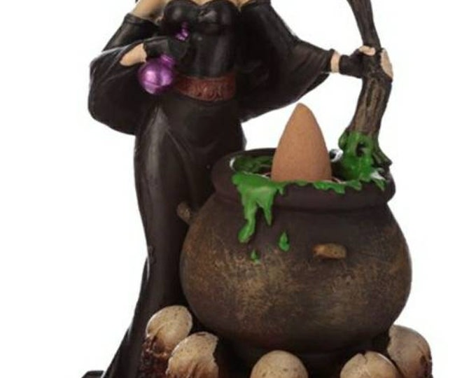 Witches Cauldron Backflow Incense Burner