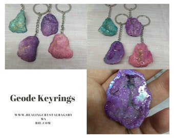 Geode Keyring.