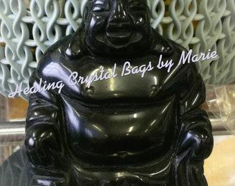 Onyx Buddha, Clear Quartz Buddha