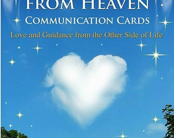 Messages from Heaven Communication Card Deck By Jacky Newcomb