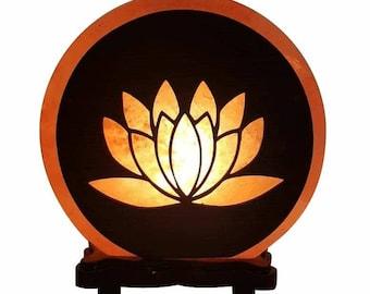 Lotus Flower Salt Lamp