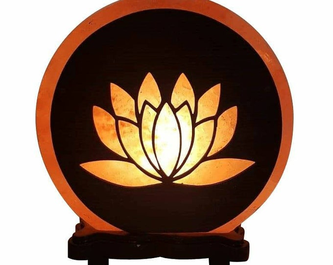 Lotus Flower Salt Lamp