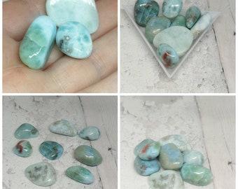 Larimar Tumblestone, Stone of the Ocean