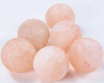 Himalayan Salt Deodorant Ball, Soap Ball, Crystal Stones