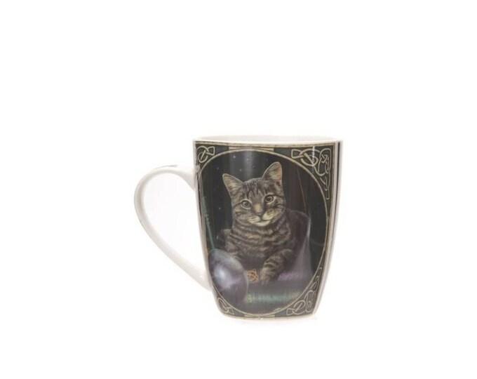 Lisa Parker Fortune Teller Cat Mug