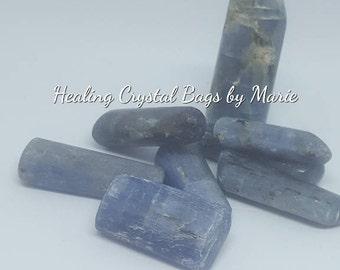 Kyanite Tumblestone Crystal for Chakra healing Reiki - one piece
