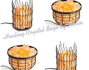 Fire Basket salt lamp