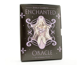 Enchanted Oracle Cards & Guidebook by Jessica Galbraith and Barbara Moore.