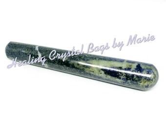 Lapis Lazuli  Wand 135mm  spiritual for healing and meditation, Massage Wand