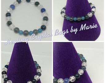 Custom Made crystal gemstone Bracelet for weight loss crystal healing