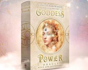 Goddess Power Oracle (Deluxe Keepsake Edition) Deck and Guidebook