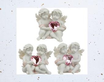 Peace of Heaven Forever Love Cherubs Figurine