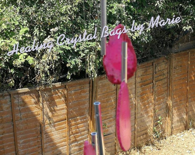 Pink Agate Wind-chime