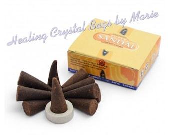 Satya Incense Sandal Dhoop Cones