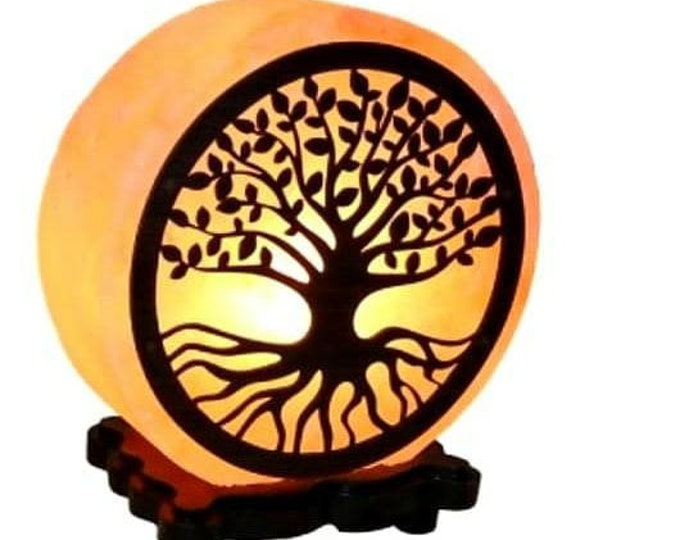 Tree Salt Lamp
