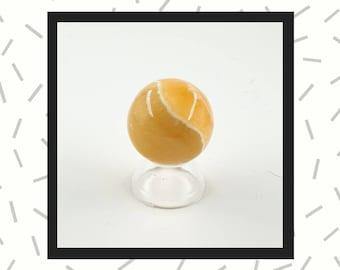 Orange Calcite  Sphere 35mm Crystal  Ball