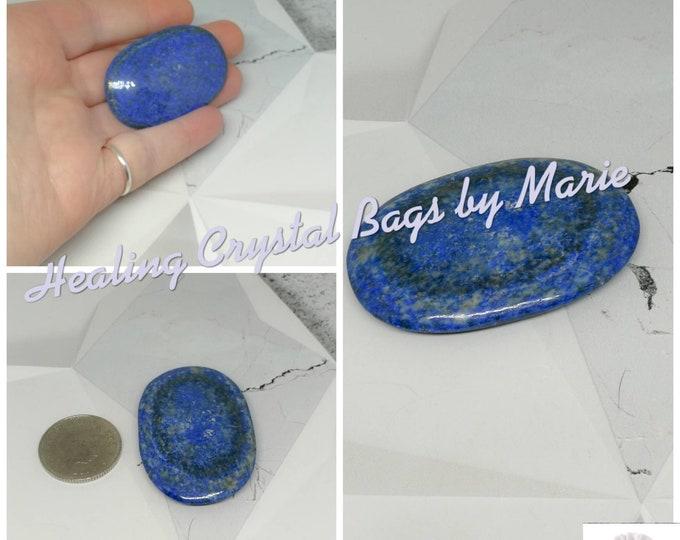 Lapis Lazuli Palmstone, Worry Stone