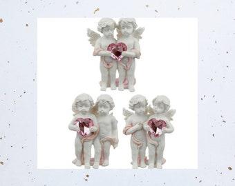 Peace of Heaven Love Everlasting Cherubs Figurine