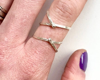 Sterling silver ring , wrap ring, spiral ring , statement ring , minimalist ring , minimal ring , geometric ring , adjustable ring , brass