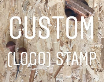Custom (logo) rubber stamp   Business logo stamp   Personalized stamp   packaging logo stamp   custom stamp   hand carved   personalized
