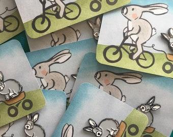 SALE! Cute bunny pin | Enamel pin | bunny brooch | cute bunny pin | accessories | brooch | spring