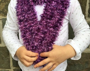 Toddler knit scarf