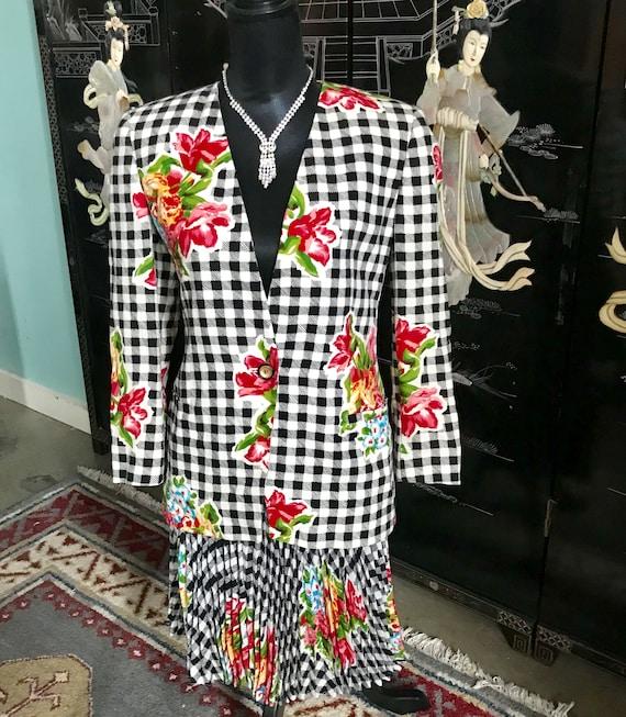 Vintage Emanuel Ungaro Suit 80s Great Condition
