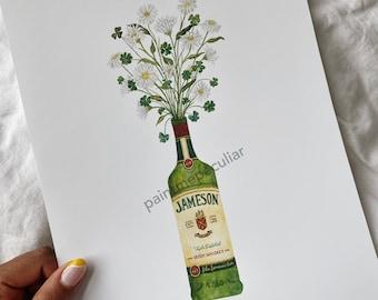 Whiskey Daydreams print