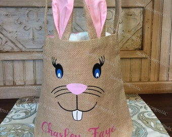 Bunny Bag Personalized