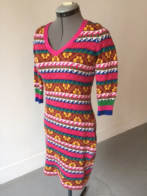 Betsey Johnson re-issue punk label cotton knit dre
