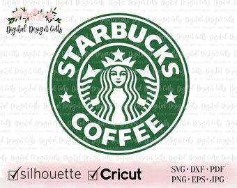 Starbucks Logo Iron on Halloween Costume T-Shirt heat transfer vinyl