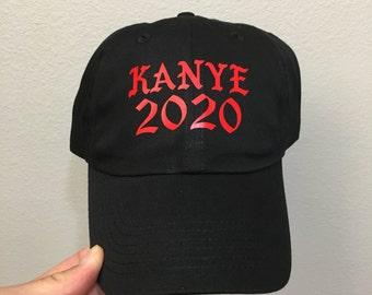 3336013e Black- Yeezy 2020 for president dad cap| 2020| kim kardashian |fuck Trump  dad Hats| cap yeezy|yeezus| elections| debate| not trump|donald