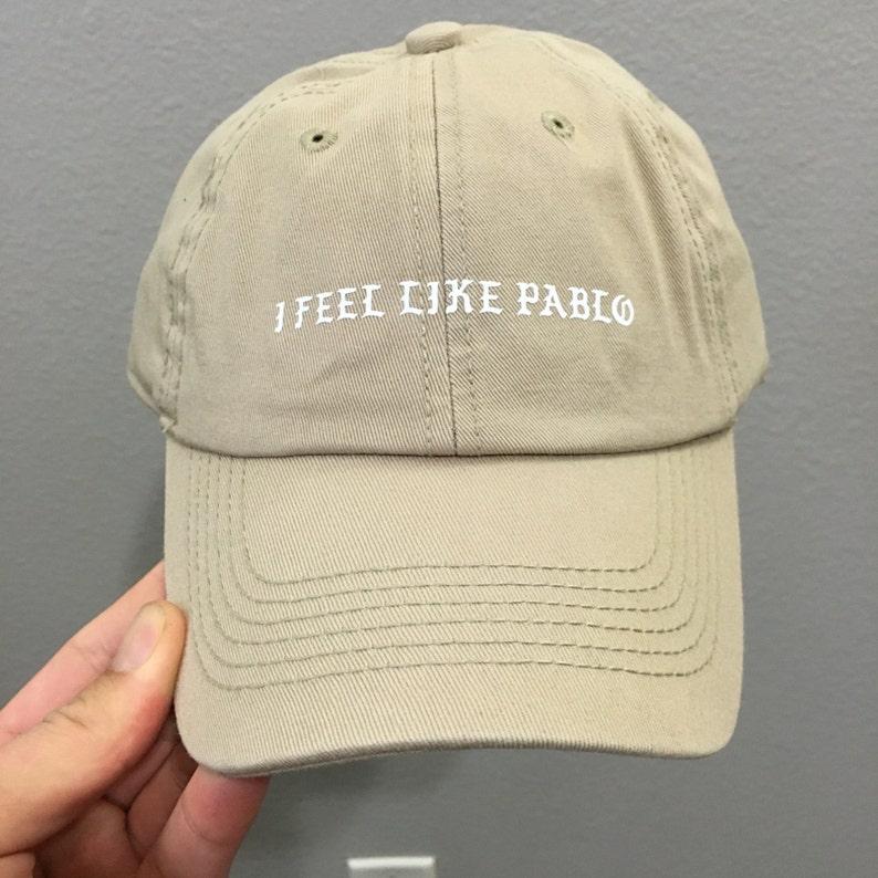 73e67b844e Tan Kanye I Feel Like Pablo Dad Hat cap Kanye YeezyKim