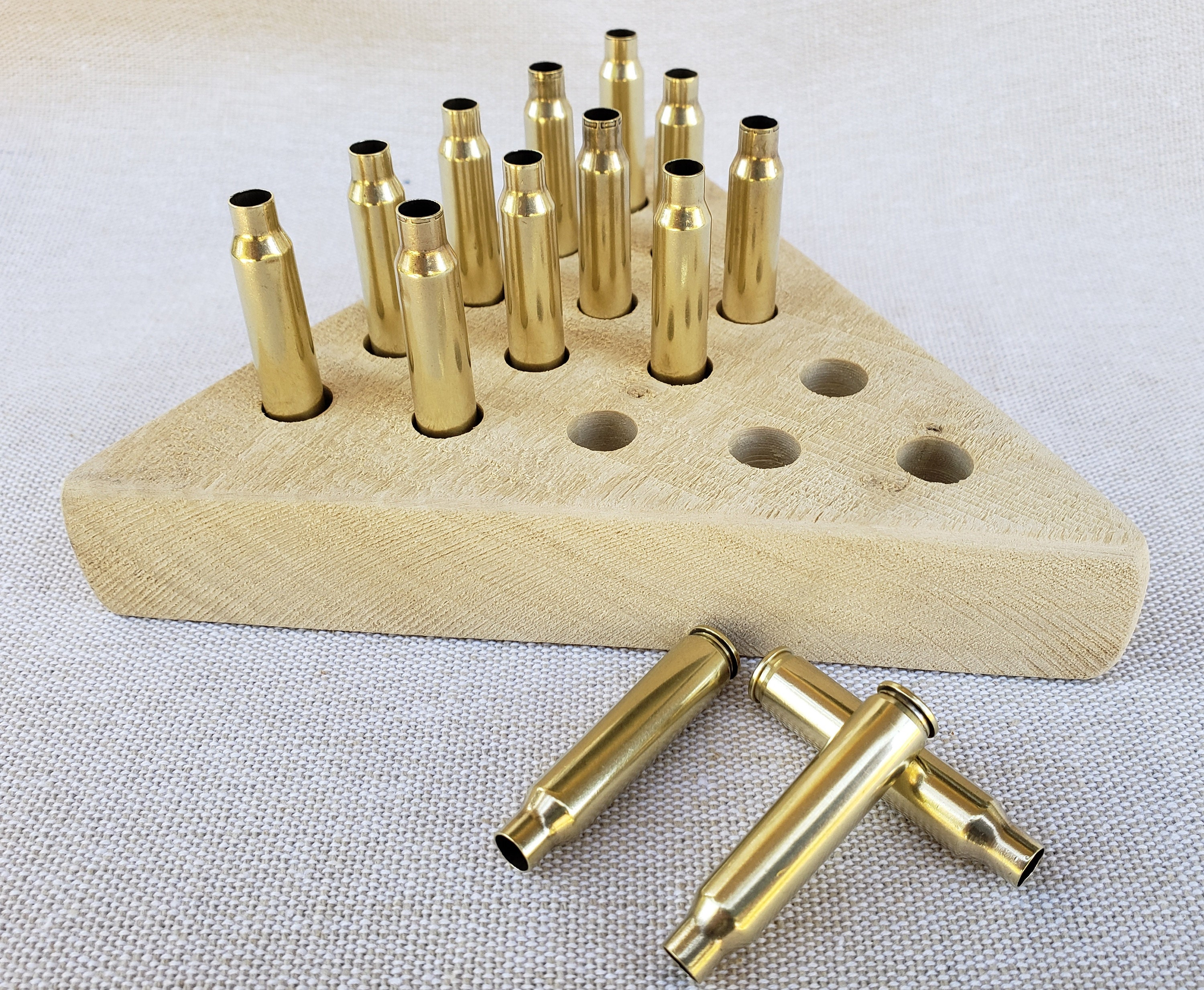 Rustic Bullet Peg Game