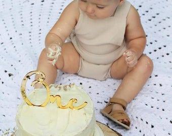 Custom Acrylic Cake Topper