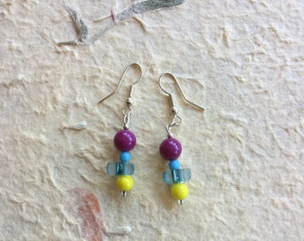 Drop Beaded Earrings