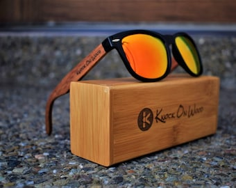 d4e65d46bed2 Vale Wood - Polarized Bamboo Sunglasses for Men and Women
