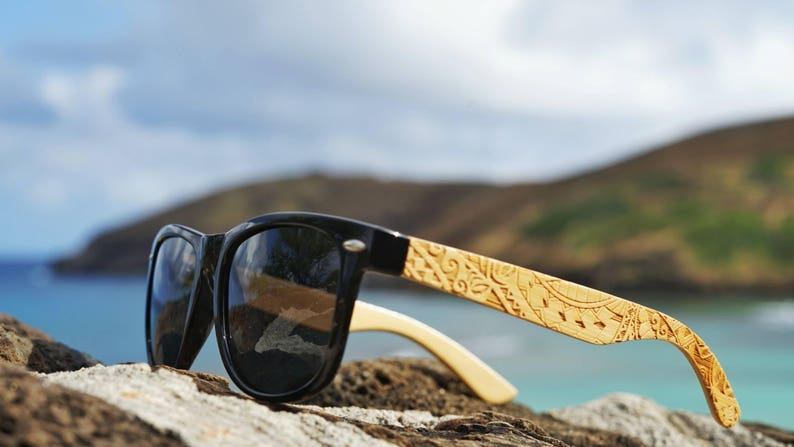 4287d44f5f5a Koa Wood Polarized Bamboo Sunglasses for Men and Women