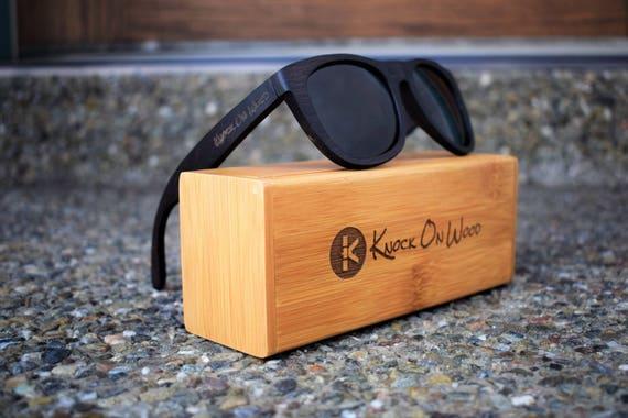 8962b79b7a0e76 Bois de minuit bambou polarisée lunettes de soleil pour   Etsy