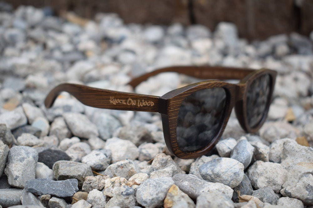 6dbadb32c0dd Coffee Wood Polarized Bamboo Sunglasses for Men and Women