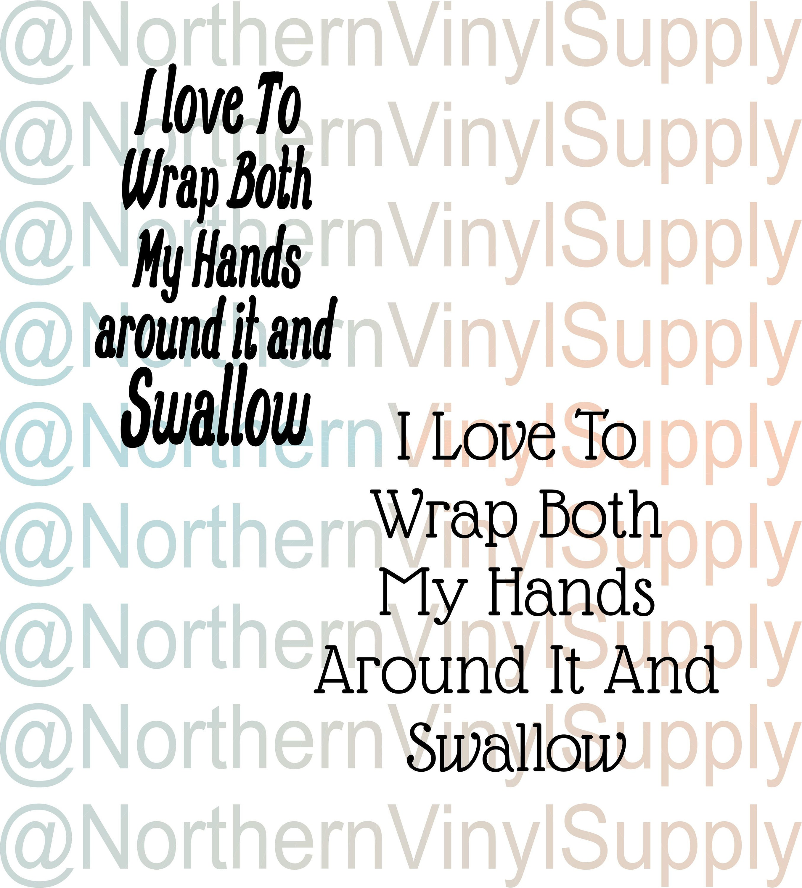 I Love To Wrap Both My Hands Around It And Swallow Mature  Etsy-7775