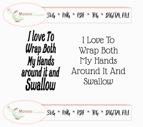 I Like To Wrap Both Hands Around It And Swallow Travel Coffee Mug
