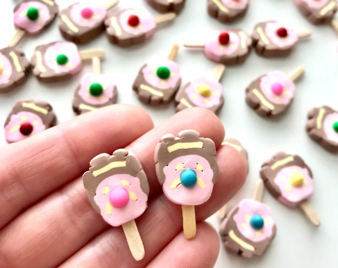 Bubble O Bill Stud Earrings, Pin or Pendant - An Iconic Australian Ice Cream on a Stick