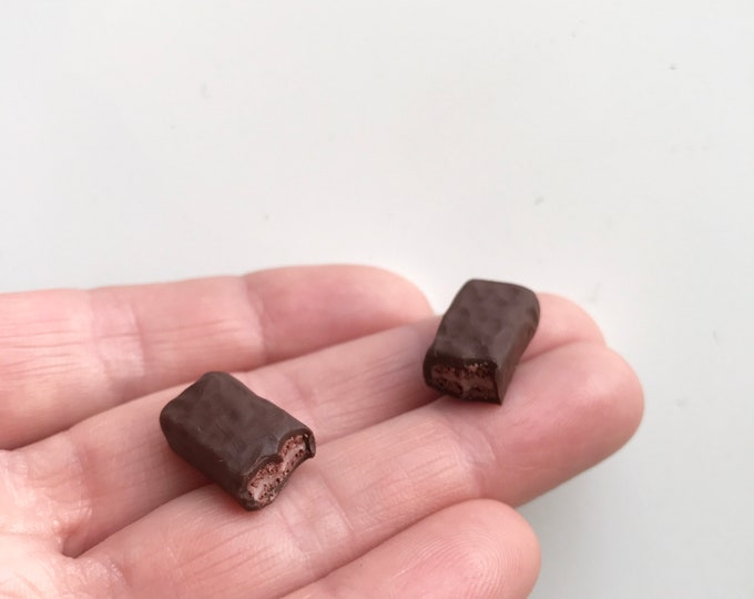 Chocolate Scented Tim Tam Earrings - A Classic Australian treat