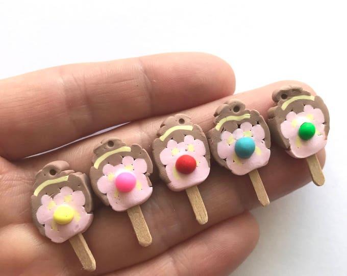 Bubble O Bill Stud Earrings, Pin or Pendant - An Iconic Australian Ice Cream on a Stick