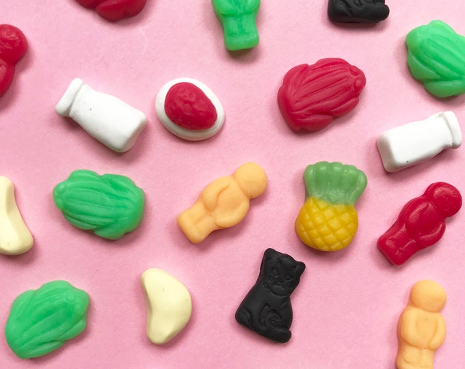 Milk Bar Range - Scented Earring Studs.  All your favourite Australian sweets! Free ALLENS Party Mix Lollies with every pair purchased!